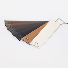 50mm Leather Blinds Sample